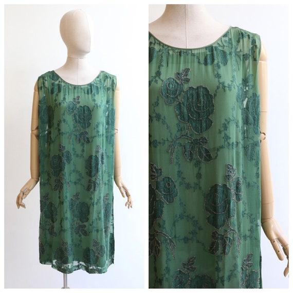 Vintage 1920's dress vintage 1920's flapper dress