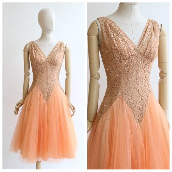 Vintage 1950's DressVintage 1950's Lilli Diamond L