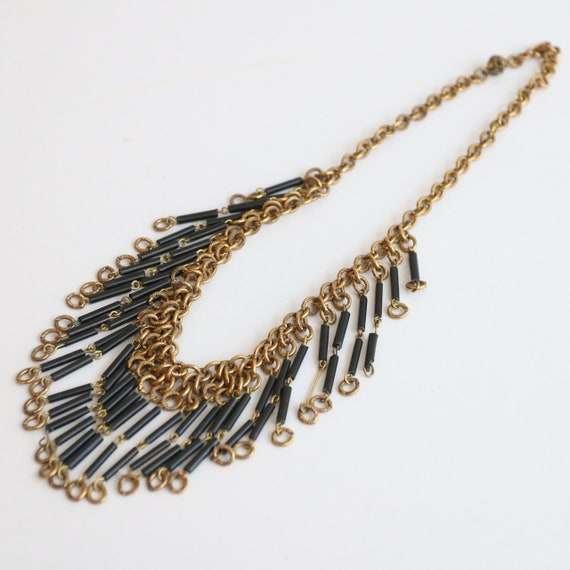 Vintage 1930's necklace vintage 1930's gold chain… - image 5