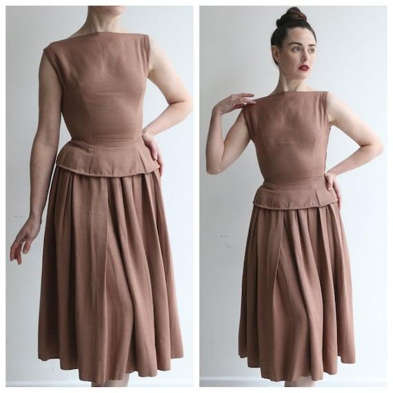 Vintage 1950's set vintage 1950's skirt and matchi