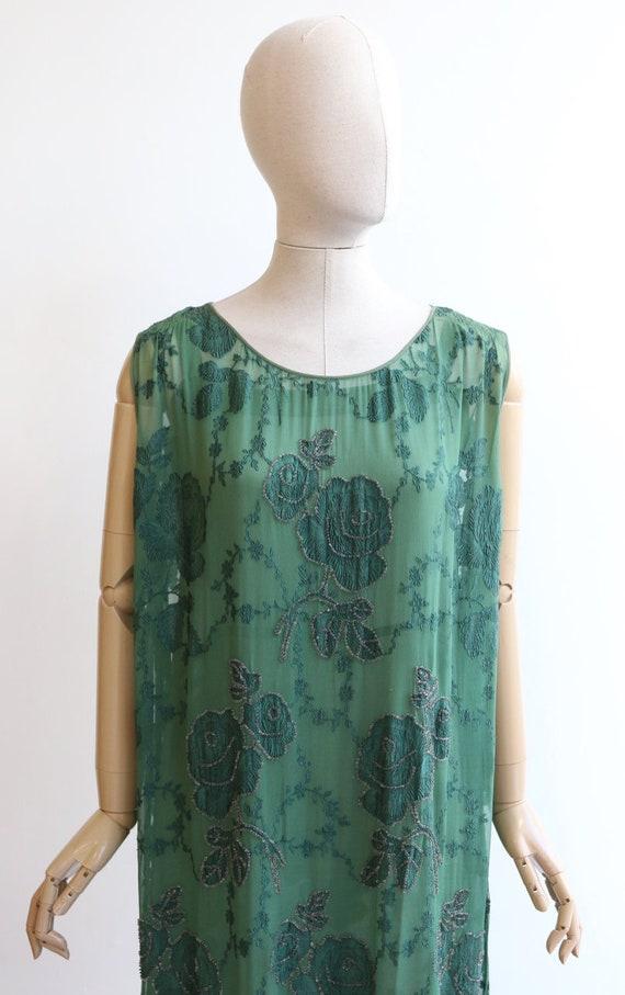 Vintage 1920's dress vintage 1920's flapper dress… - image 3