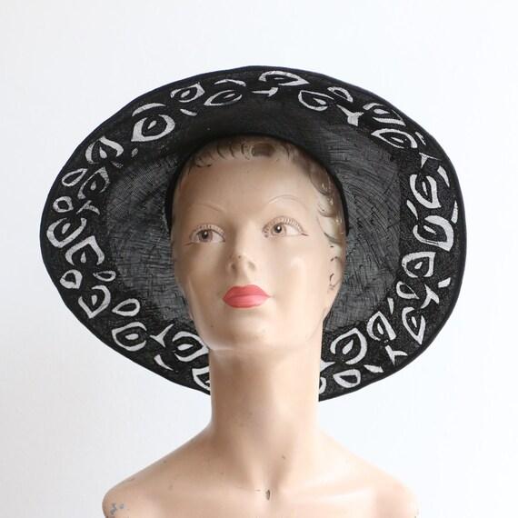 Vintage 1930's hat vintage 1930's cut out hat orig