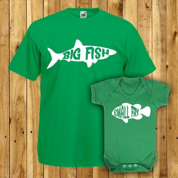 Matching Father Son Tshirts Daddy Gift Set Dad Birthday