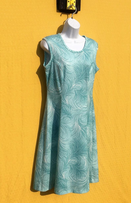 Vintage 197080/'s Linzi Floral patterned summer dress Size 1012?