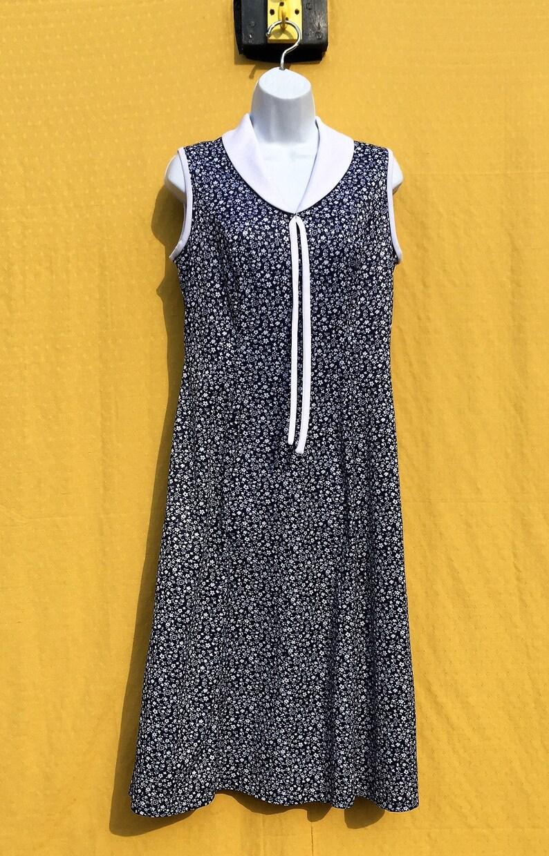 Size 8? Vintage 1980/'s Fashion Extra Floral patterned summer dress