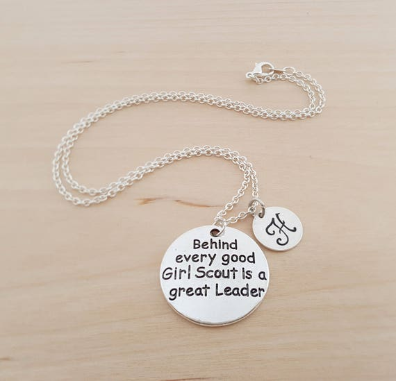 Behind every good girl scout is a great leader charm..pendant LOT of 5