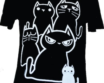 NewBreed Girls Tee featuring 'I F**kin Love Cats Ok!'  design