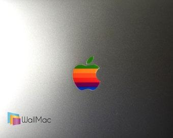 1f49e5bd4 Original Apple Logo Apple Macbook Logo Decal Sticker - 2 Decals per Order