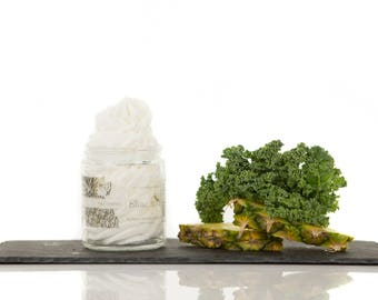 Kale and Pineapple, Whipped Body Butter