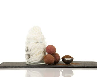 Lychee and rooibos, Whipped body butter