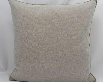 45cm x 45cm square, piped designer scatter cushion