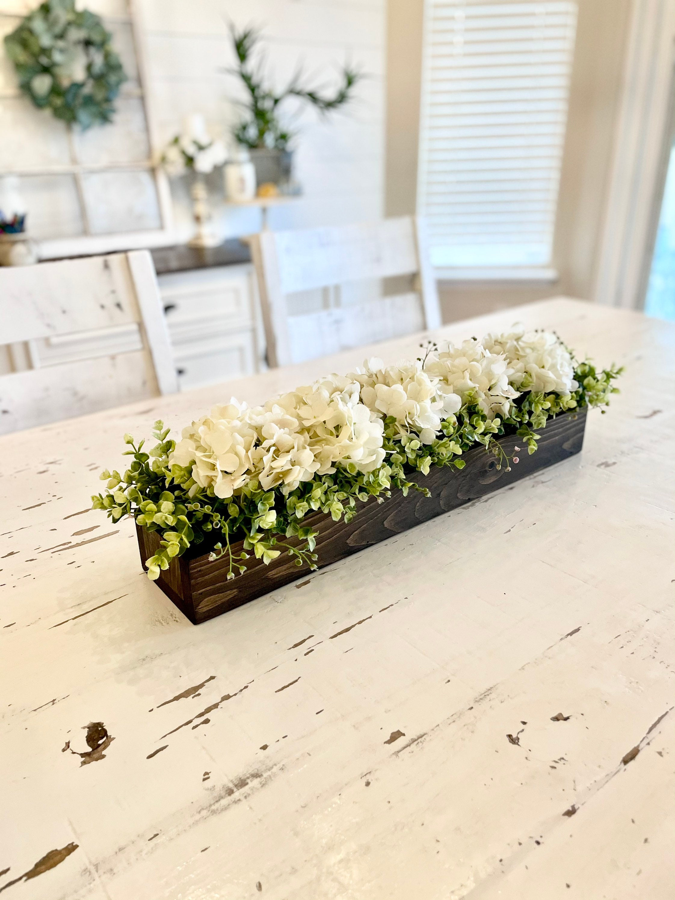 Kitchen Island Centerpiece Dining Room Table Centerpiece Etsy