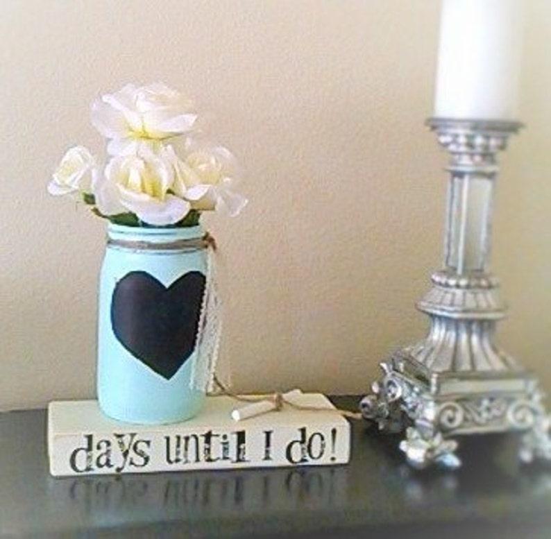Wedding Countdown-Engagement Gift-Chalkboard Countdown