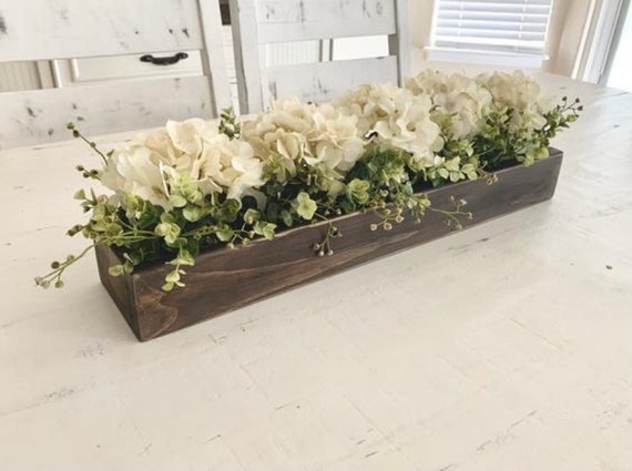 Kitchen Island Centerpiece Dining Room Table Centerpiece Etsy