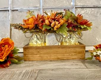 Fall centerpiece, Fall decorations, Fall Home Decor, Fall Floral Arrangement, Fall Farmhouse Table Decor, Fall Decor, Rustic Farmhouse