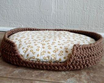 Crochet Cat Bed Etsy