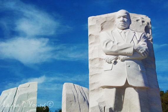 Martin Luther King Mlk Memorial Statue Washington Dc Mlk Etsy