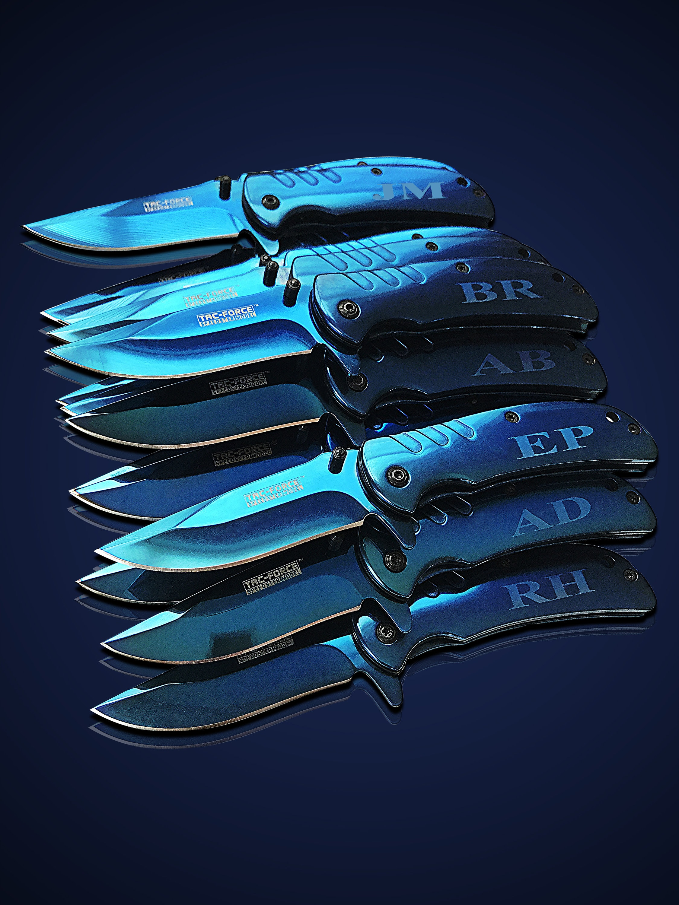 Personalized Gifts Groomsmen Pocket Knife Set Of 7 Folding Knife