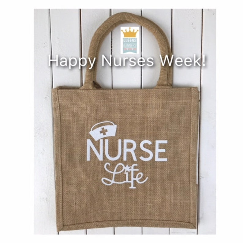 Nurses gifts RN Gifts Nurse Appreciation Gifts Nurse Graduation Nurse Week Gift Happy Nurses Week Gift for Nurses Nurse tote
