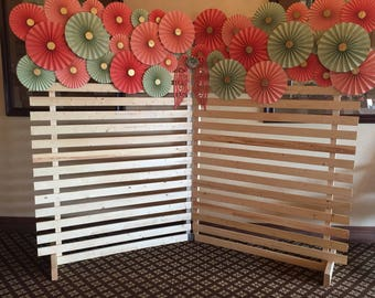 Backdrop, Craft Show Display, Photo Booth backdrop, Party Backdrop, Wedding Backdrop, Pallet Backdrop, Craft Show Booth