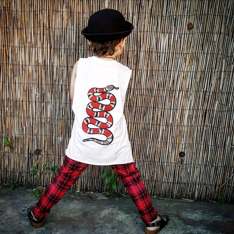 740936ff2 Boy T-Shirt Girls T-shirt Kids T-shirt Boys muscle tee | Etsy