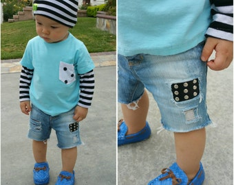 Baby Jeans,  Boys Jeans, Jeans for Boys, Kids Jeans, Baby Shorts, Boys Shorts, Boys Denim Shorts, Kids Shorts, Boys Distressed Jeans
