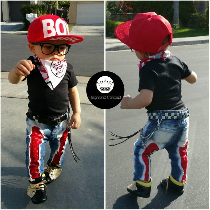3b4a865bc Baby Distressed Jeans Boys Jeans Girls Skinny Jeans Kids