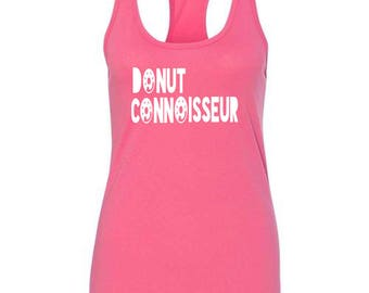 Donut Connoisseur Womens Tank