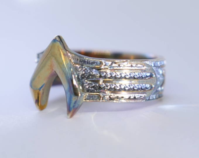 Custom Aquaman inspired Atlantis Armor Ring after Jason Momoa