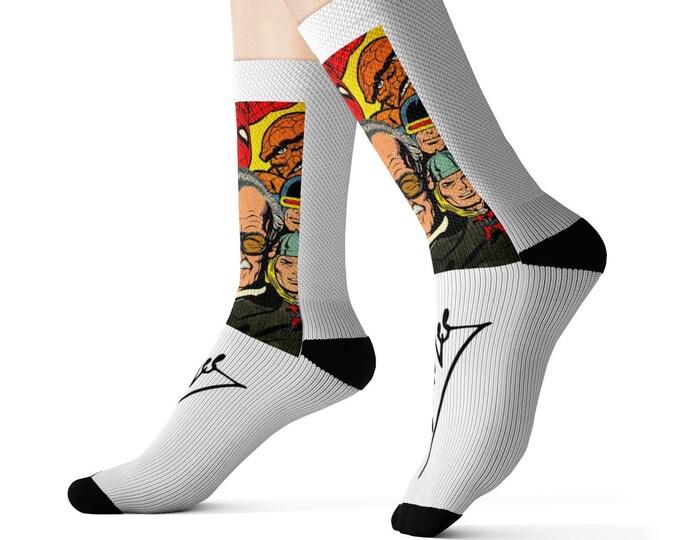 Stan Lee socks!