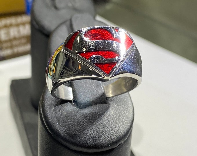 Officially licensed Superman ring