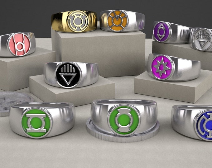 Custom Small GL inspired rings