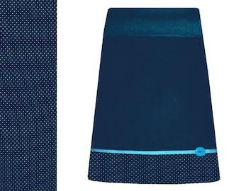 Cotton skirt, dream skirt, haribur, petrol