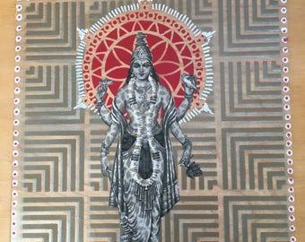 Vishnu wall art