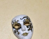Ooak miniature Venetian mask 1:12 scale