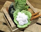 Box of vegetables miniatu...