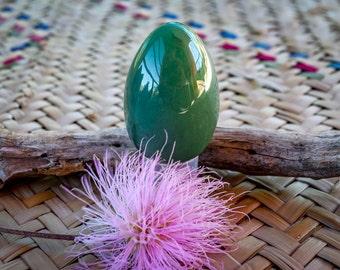 Aventurine yoni eggs,  sacred feminine, + free a pratical guide for using yoni eggs, undrilled yoni eggs