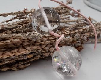 Ben wa clear quartz balls, Kegel balls, yoni balls, boules de geisha, + free a pratical guide for using yoni eggs