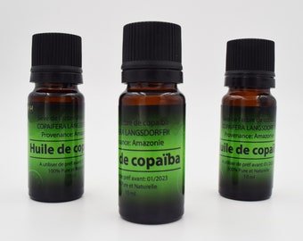 Copaiba oil, Copaifera sap, Detox 100% pure and natural from Amazonian Forest, undiluted copaiba oil, anti-inflammatory and antibiotic