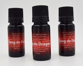 Dragon blood, Croton Lechleri sap, antioxidant 100% pure and natural from Amazonian Forest, undiluted dragon blood, anti-inflammatory