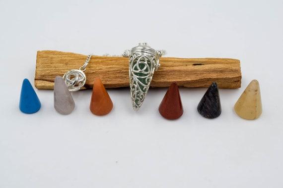 Witness Pendulum, ideas for gift, divination pendulum, Pendulum Radiesthesie, Esotérique, metal pendulum