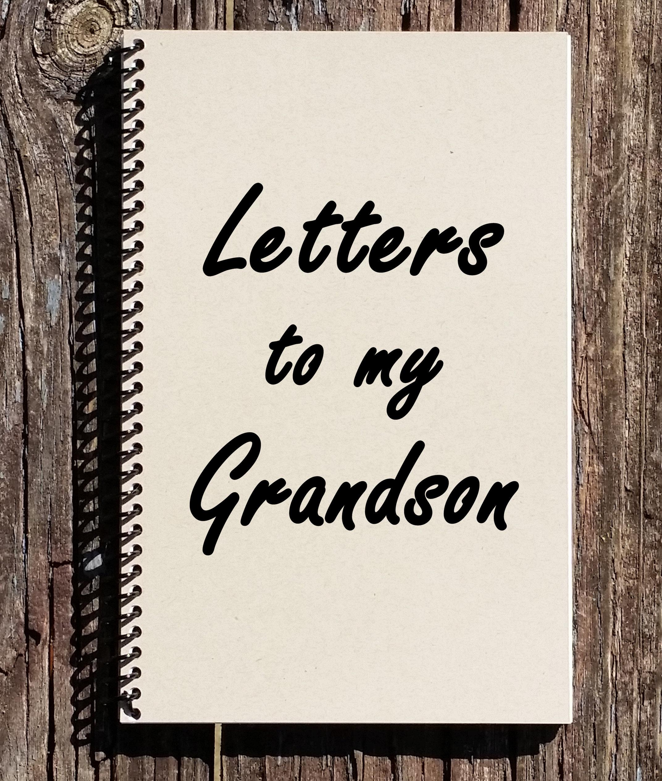 Briefe An Meine Enkel Anmerkungen Zum Enkel Geschenk Fur Etsy