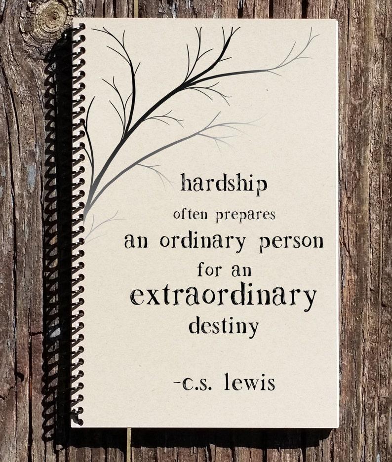 Cs Lewis Quote Cs Lewis Hardship Quote Hardships Prepare Etsy