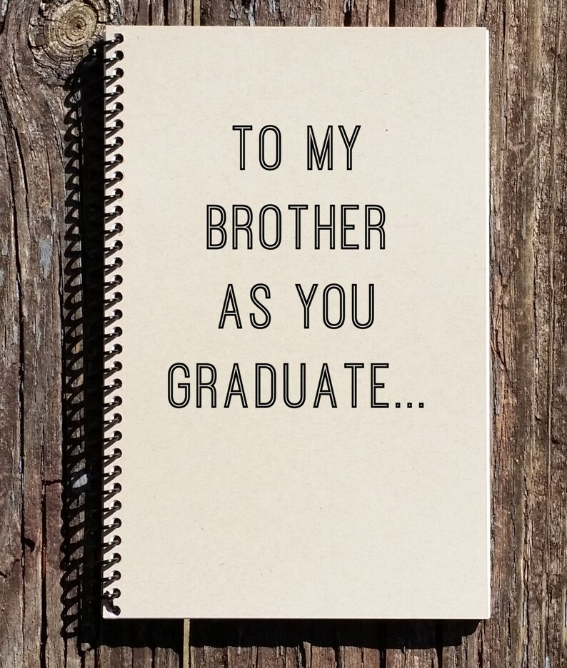 Brother Graduation Gift  Brother Graduation  Graduation Gift image 0