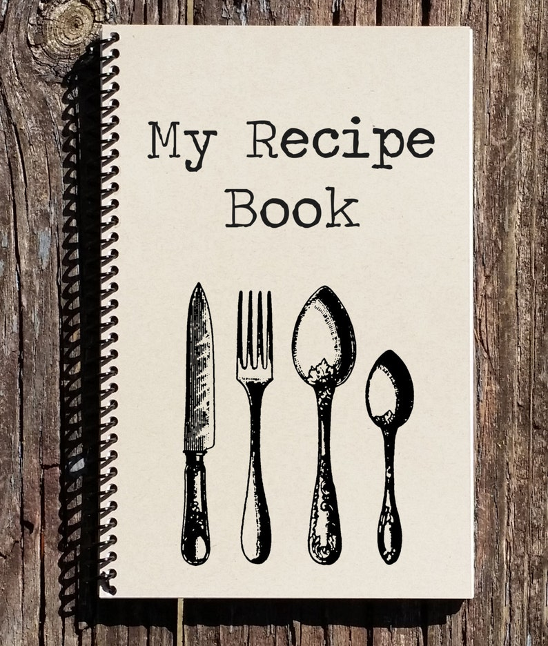 Recipe Book  Recipe Journal  My Recipes  Notebook  Journal image 0
