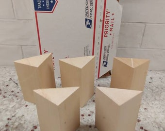 Basswood Carving Blanks (pack of 5)