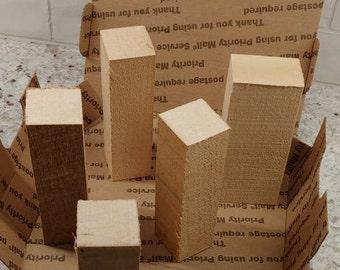 Box full of Basswood Rectangular Carving Blanks