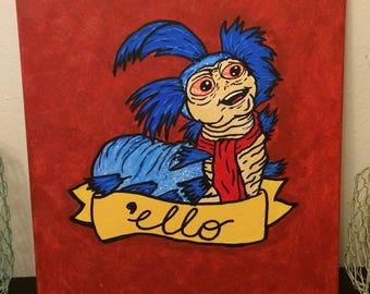 ello, not hello! - Labyrinth Movie Art