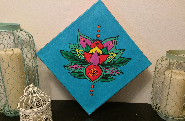 Lotus flower peace and serenity etsy zoom mightylinksfo