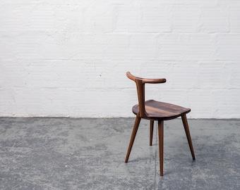 Oxbend Chair - Walnut